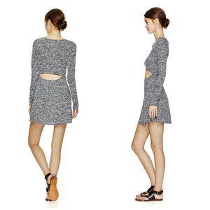 ARITZIA WILFRED MARLED GREY SOLAGE DRESS